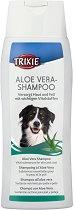 Trixie Aloe Vera Shampoo - Шампоан с алое вера за кучета с чувствителна кожа - опаковка от 250 ml - продукт