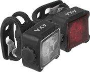AXA Niteline 44 - Комплект от предна и задна светлина