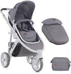 Комбинирана бебешка количка - Calibra 2018 - С 3 колела - количка