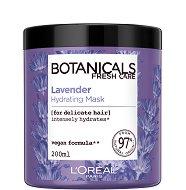 """L'Oreal Botanicals Lavender Hydrating Mask - Маска за тънка и крехка коса с лавандула от серията """"Botanicals - Lavender"""" - продукт"""