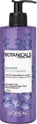 """L'Oreal Botanicals Lavender Soothing Therapy Shampoo - Шампоан за тънка и крехка коса с лавандула от серията """"Botanicals - Lavender"""" - маска"""
