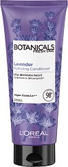 "L'Oreal Botanicals Lavender Soothing Therapy Conditioner - Балсам за тънка и крехка коса с лавандула от серията ""Botanicals - Lavender"" - маска"