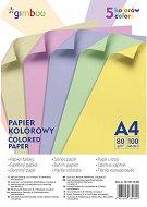 Цветна хартия формат А4