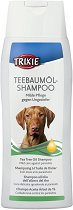 Trixie Tea Tree Oil Shampoo - Противопаразитен шампоан за кучета с масло от чаено дърво - опаковка от 250 ml - продукт