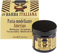 Barba Italiana Modeling Paste - Amerigo - Моделираща паста за брада и мустаци - четка