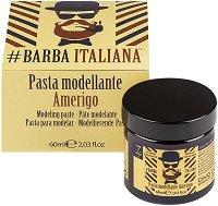 Barba Italiana Modeling Paste - Amerigo - Моделираща паста за брада и мустаци - олио