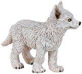 """Полярно вълче - Фигура от серията """"Диви животни"""" - фигури"""