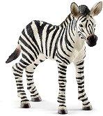"""Зебра - бебе - Фигура от серията """"Животни от дивия свят"""" -"""