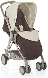 Лятна бебешка количка - Boomerang - С 4 колела -