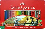 Цветни моливи - Classic - Комплект с графитни моливи, гума и острилка