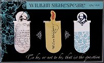 Мини магнитни разделители за книга - Уилям Шекспир -