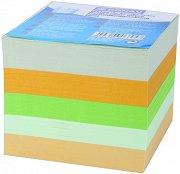 Цветно хартиено кубче - Със 750 квадратни листчета с размери 8.5 x 8.5 cm