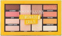 Maybelline Lemonade Craze Eyeshadow Palette Makeup - лосион
