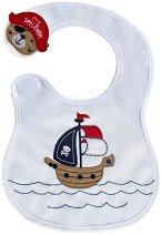 Хавлиен лигавник - Пиратски кораб - За бебета от 2 до 12 месеца - продукт