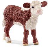 """Херефорд - теле - Фигура от серията """"Животните от фермата"""" -"""