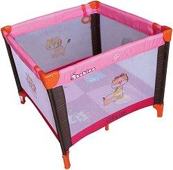 Сгъваема бебешка кошарка за игра - Circus -