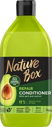 Nature Box Avocado Oil Repair Conditioner - Натурален възстановяващ балсам за коса с масло от авокадо - сапун