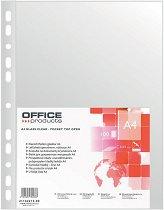 Джобове за документи - Формат А4 кристал - Комплект от 100 броя