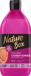 Nature Box Almond Oil Volume Conditioner - Натурален балсам за коса за обем с масло от бадем - масло
