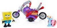 """Състезателният мотор на Спондж Боб - Детски конструктор от серията """"SpongeBob"""" - играчка"""