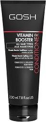 "Gosh Vitamin Booster Conditioner - Балсам с витамини за всеки тип коса от серията ""Vitamin Booster"" -"