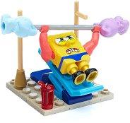 """Смахнат фитнес - Детски конструктор от серията """"SpongeBob"""" -"""