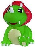 Зелен динодавър - Пръскаща играчка за баня -