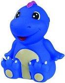 Син динозавър - Пръскаща играчка за баня -