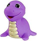 Лилав динозавър - Пръскаща играчка за баня -