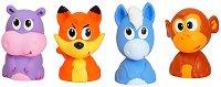 Новите приятели на Бъни - Комплект от 4 играчки за баня -
