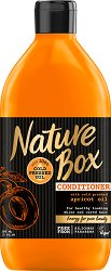 Nature Box Apricot Oil Conditioner - Балсам за блестяща коса с масло от кайсиеви ядки - шампоан