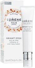 """Lumene Valo Bright Eyes All-in-One Eye Treatment - Околоочен крем за блясък с витамин C от серията """"Valo"""" - продукт"""