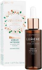 """Lumene Sisu Urban Intense Hydrating Serum - Интензивен хидратиращ серум за всеки тип кожа от серията """"Sisu"""" -"""