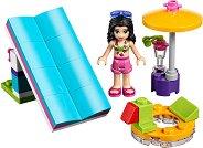 """Ема край басейна - Детски конструктор от серията """"LEGO: Friends"""" - фигура"""