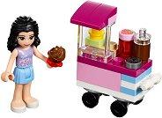 """Ема с количка за кексчета - Детски конструктор от серията """"LEGO: Friends"""" - фигура"""