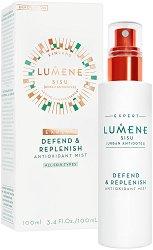 """Lumene Sisu Defend & Replenish Antioxidant Mist - Защитен антиоксидантен спрей-мист за лице от серията """"Sisu"""" -"""