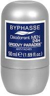 Byphasse Men Groovy Paradise Antiperspirant Roll-On - Мъжки ролон против изпотяване - крем