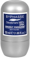 Byphasse Men Groovy Paradise Antiperspirant Roll-On -