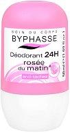 Byphasse Deodorant Rose Roll-on - Ролон против изпотяване с флорален аромат - крем