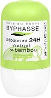 Byphasse Deodorant Bamboo Extract - Ролон против изпотяване с екстракт от бамбук -