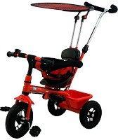 Aero Bike - Детска триколка с дръжка за бутане