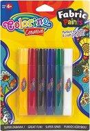 Боя за текстил - Комплект от 6 цвята x 10.5 ml