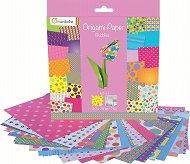 Хартия за оригами - Bubbles - Комплект от 60 листа с размер 20 х 20 cm