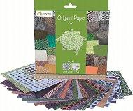 Хартия за оригами - Zoo - Комплект от 60 листа с размер 20 х 20 cm