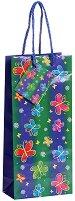 Торбичка за подарък - Пеперуди - Размери 10 x 22 cm - фигура