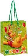 Торбичка за подарък - Мечо Пух - Размери 11 x 14 cm - фигура