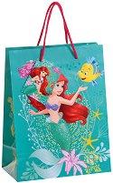 Торбичка за подарък - Малката русалка - Размери 17.5 x 22.5 cm - играчка