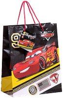 Торбичка за подарък - МакКуин Светкавицата - Размери 17.5 x 22.5 cm - фигура