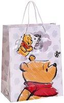 Торбичка за подарък - Мечо Пух - Размери 17.5 x 22.5 cm - играчка