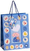 Торбичка за подарък - Момченце - Размери 23 x 17.5 cm - играчка